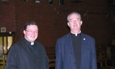Fr Christy and Fr Ben